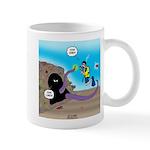 Octopus vs SCUBA Diver 11 oz Ceramic Mug