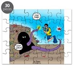 Octopus vs SCUBA Diver Puzzle