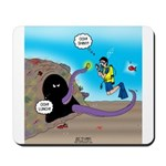Octopus vs SCUBA Diver Mousepad