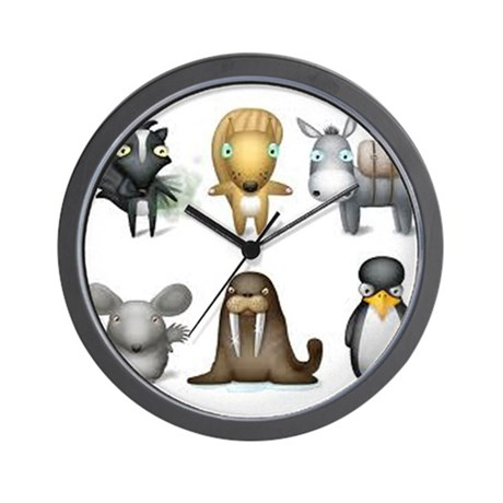 The Other Zoo Wall Clock