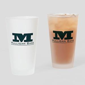 Mulligan Bank Drinking Glass