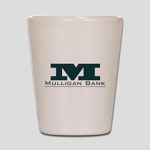 Mulligan Bank Shot Glass