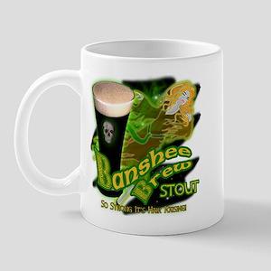 Banshee Brew Irish Stout Mug