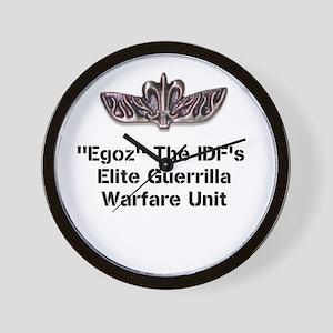 """""""Egoz"""" Unit Wall Clock"""