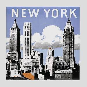 Classic New York Tile Coaster