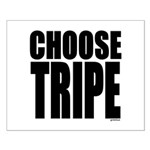CHOOSE TRIPE Small Poster