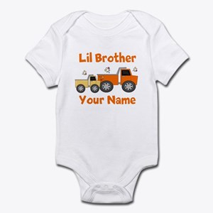 Little Brother Truck Infant Bodysuit