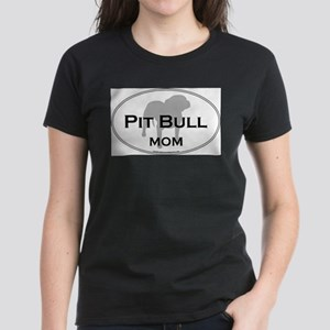 Staff-Bull-Terrier-OvalMom T-Shirt