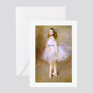 Renoir's Dancer Greeting Card