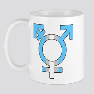 Trans Symbol Mug
