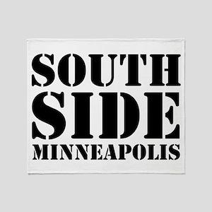 South Side Minneapolis Throw Blanket