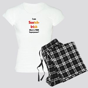 i am scotch-irish Women's Light Pajamas