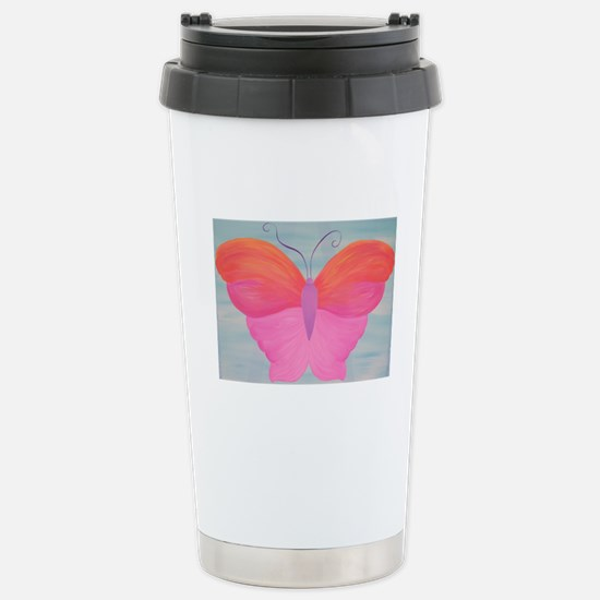 Butterfly Items Stainless Steel Travel Mug