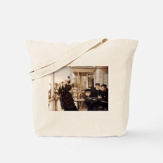 Captain's Daughter, Tissot Tote Bag