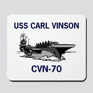 USS CARL VINSON Mousepad