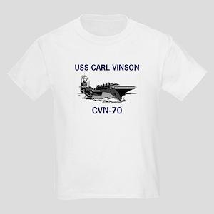 USS CARL VINSON Kids T-Shirt