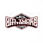 2012 GM Tuner Gathering Event Aluminum License Pla