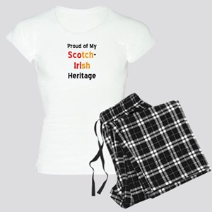 scotch-irish heritage Women's Light Pajamas