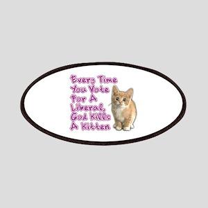 God Kills A Kitten Patches