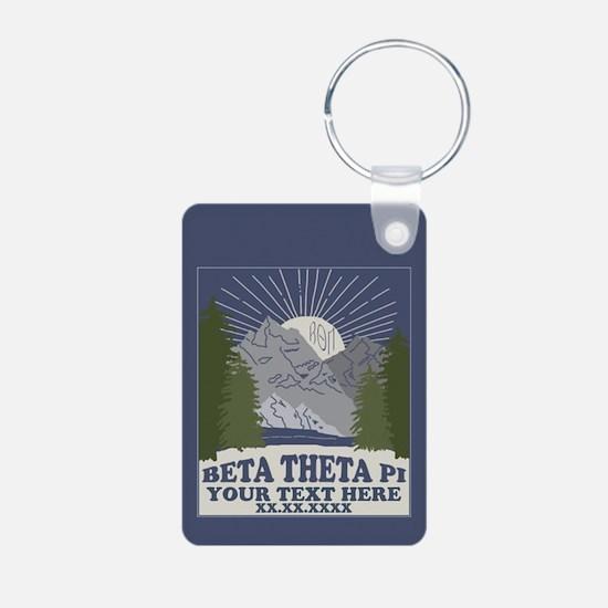 Beta Theta Pi Mountains Pe Keychains