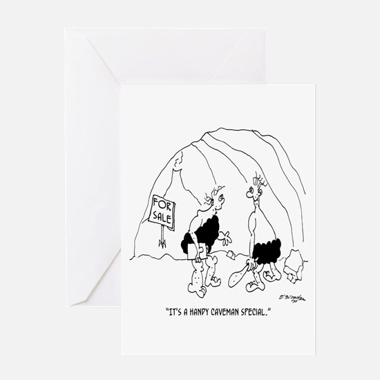 Handy Caveman Special Greeting Card