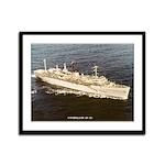 USS HOLLAND Framed Panel Print