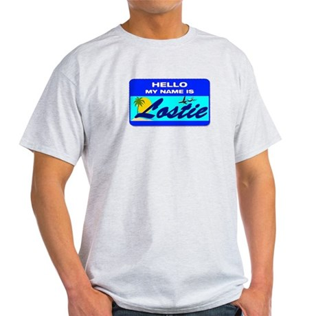 Hello My Name is Lostie! Light T-Shirt