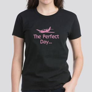 Perfect Day Airplane Women's Dark T-Shirt