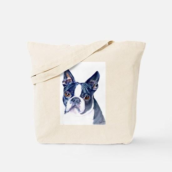 Cute Boston terrier Tote Bag