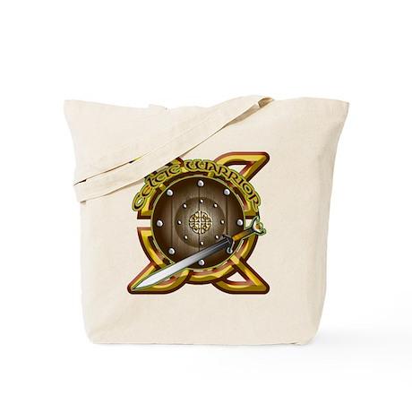 Celtic Warrior Irish Tote Bag