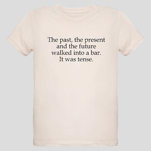 Past Present Future Tense Organic Kids T-Shirt