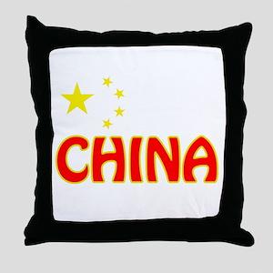 China Throw Pillow