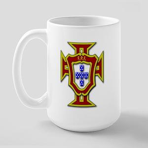 Portugal FPF - Large Mug