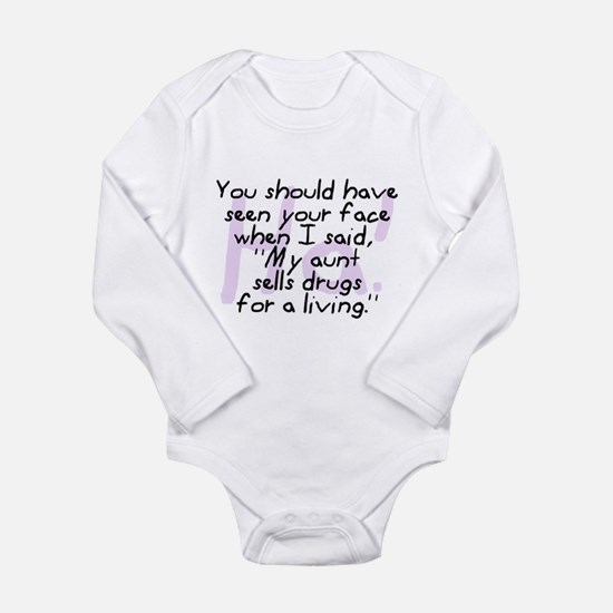 AuntSellDrugsPING Body Suit