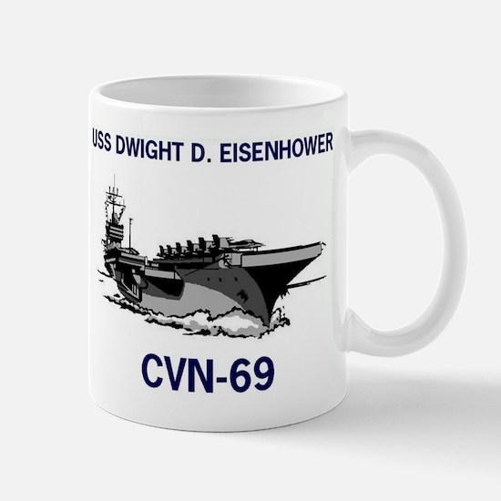 USS EISENHOWER Mug