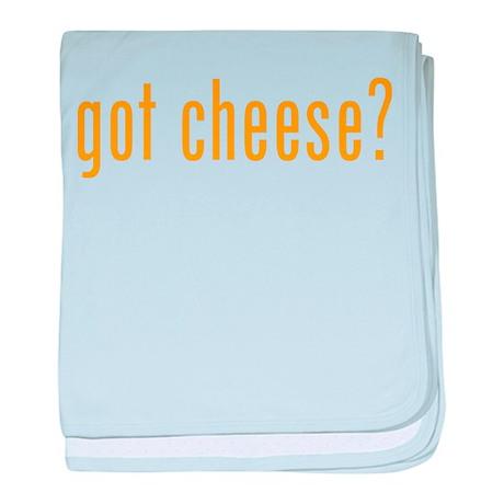 Got cheese? baby blanket