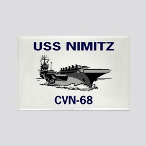 USS NIMITZ Rectangle Magnet (10 pack)