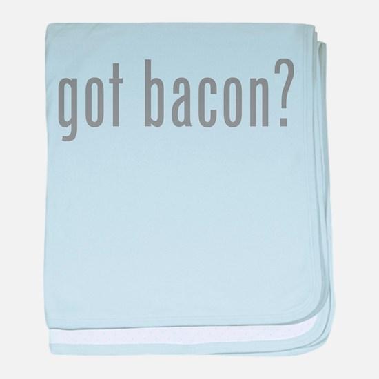 Got bacon? baby blanket