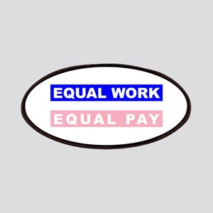 Equal Work Equal Pay Patches