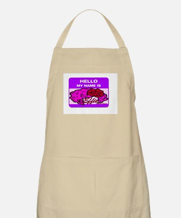 Hello my Name is Effie! Apron