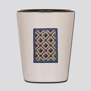 Jewel Box Quilt Shot Glass