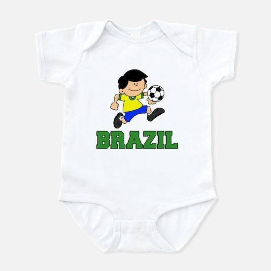 Brazil Football (Soccer) Infant Bodysuit