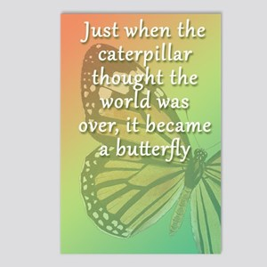 """""""Be the Butterfly"""" Postcards (Package of 8)"""
