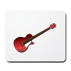 Red Electric Guitar Mousepad