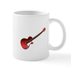 Red Electric Guitar Mug