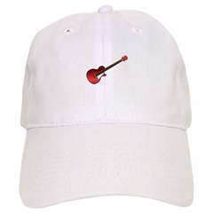 Red Electric Guitar Cap