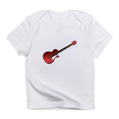 Red Electric Guitar Infant T-Shirt