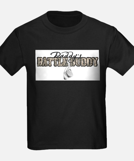 Daddy's Battle Buddy T-Shirt