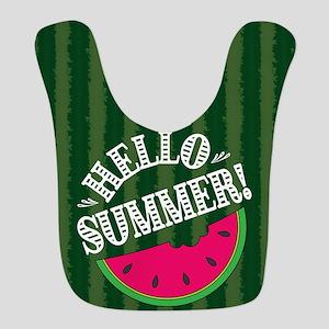 Watermelon Polyester Baby Bib