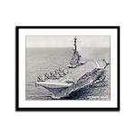 USS HORNET Framed Panel Print